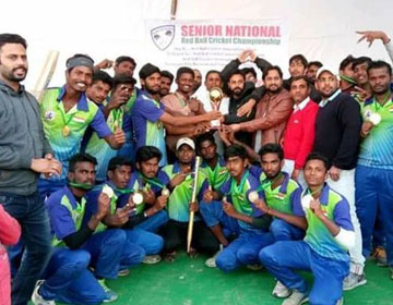 Senior National Red Ball Cricket Championship, on 28 - 30 Dec 2017