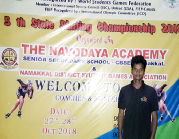 5th State Skating Championship 2018, on 27 & 28 Oct 2018