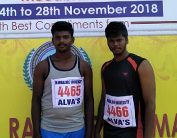 79<sup>th</sup> All India Inter University Athletics Championship 2018 - 2019, on 24 - 28 Nov 2018