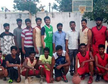Our College Basketball team won the match against Central Law College, Salem, on 23 Jan 2019