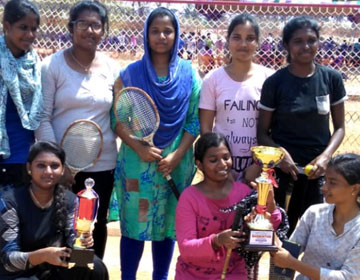 Our College Women Ball Badminton team got Championship 2018 - 2019 at VMRF Inter Collegiate Tournament at VMCPE, Salem, on 09 Mar 2019