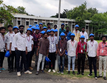 Industrial Visit to Salem Steel Plant, on 21 Aug 2019