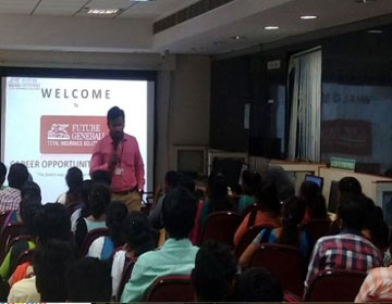 "Career awareness Programme, on ""How to Face the Competitive Examination"", by Future General Life Insurance, on 24 Sep 2019"